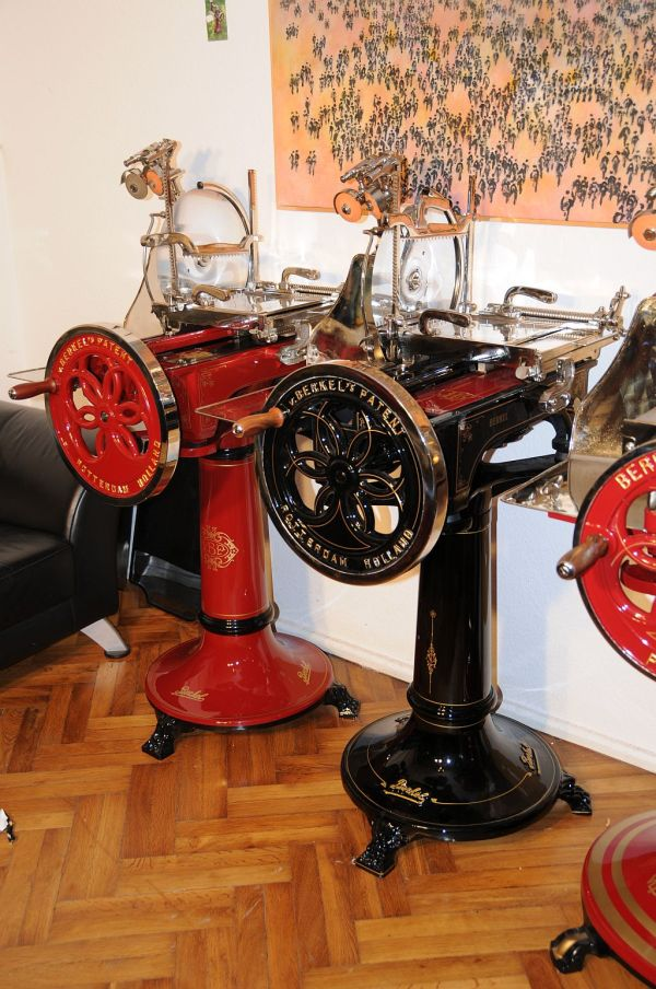 Berkel Model L nickel 1906