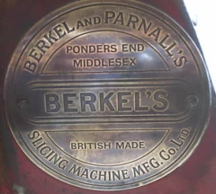 Berkel and Parnalls London Plakette